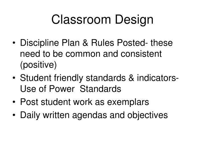 Classroom Design