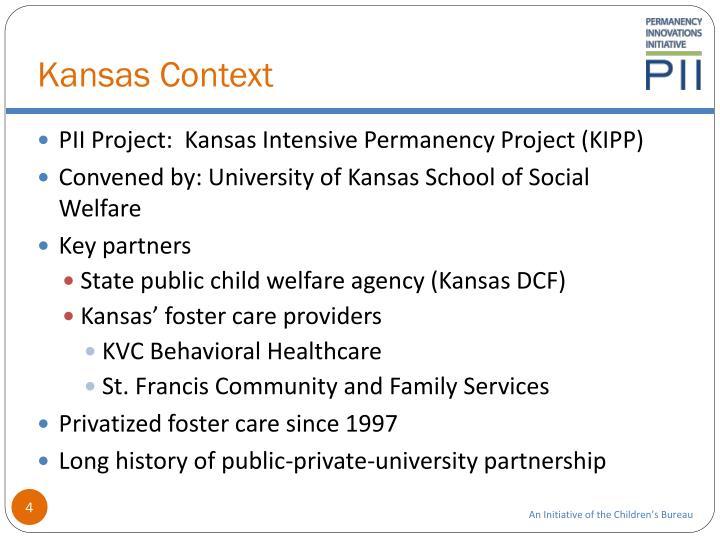 Kansas Context