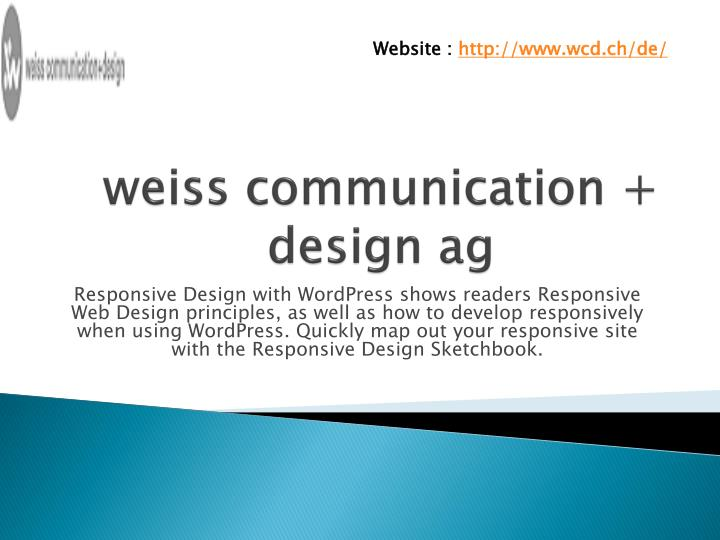 Weiss communication design ag