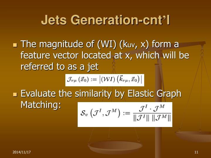 Jets Generation-cnt