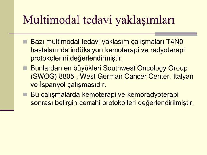 Multimodal tedavi yaklaşımları