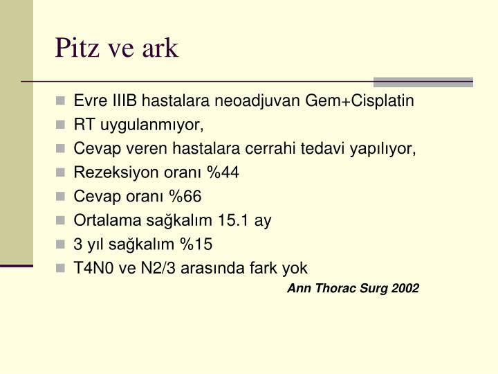 Pitz ve ark