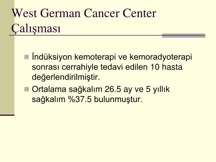 West German Cancer Center