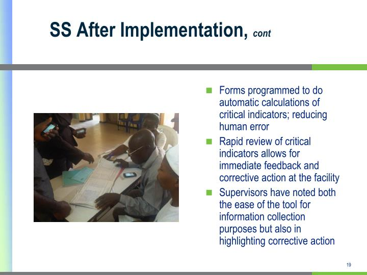 SS After Implementation,