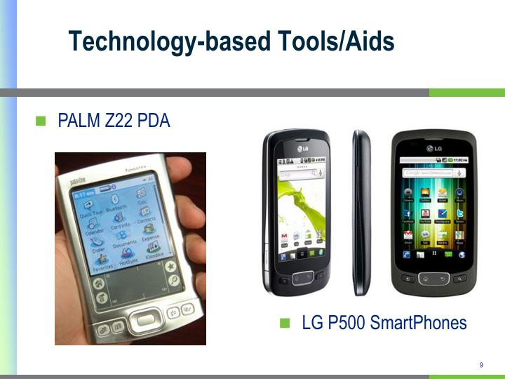 Technology-based Tools/Aids