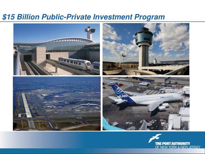 $15 Billion Public-Private Investment Program