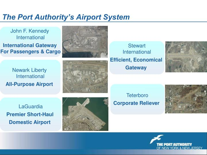 The Port Authority's Airport System