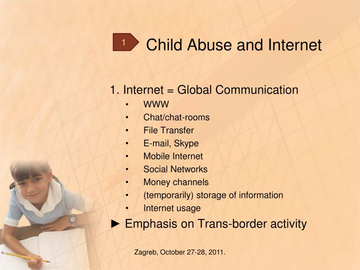 Child abuse and internet