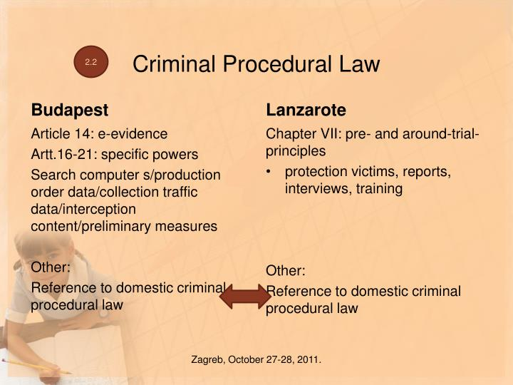 Criminal Procedural Law