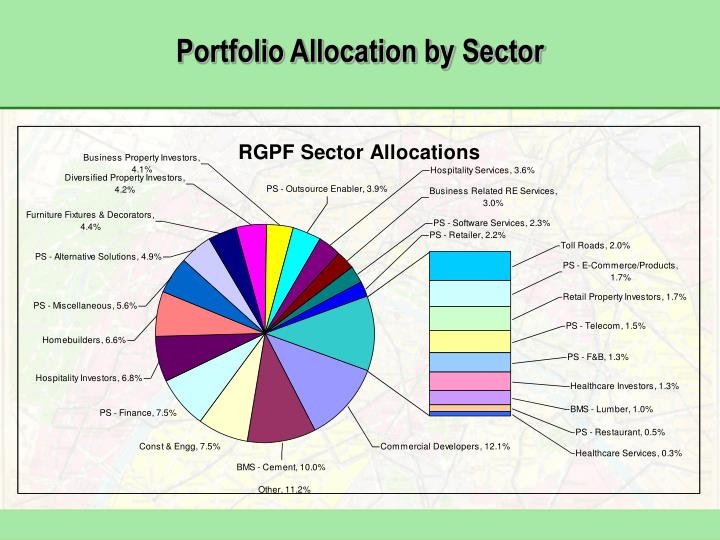 Portfolio Allocation by Sector