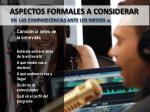 aspectos formales a considerar en las comparecencias ante los medios 6