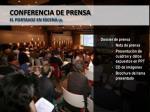 conferencia de prensa el portavoz en escena 2