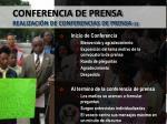 conferencia de prensa realizaci n de conferencias de prensa 1