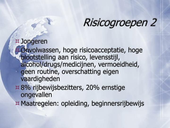 Risicogroepen 2