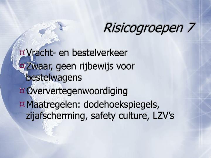 Risicogroepen 7