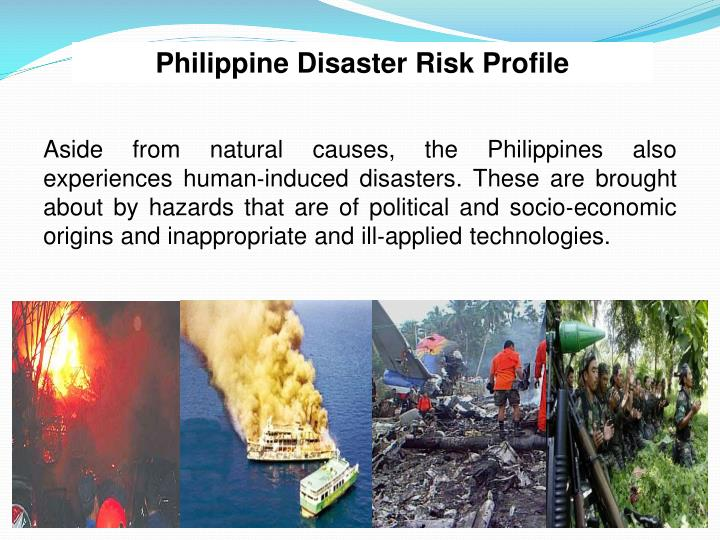 Philippine Disaster Risk Profile