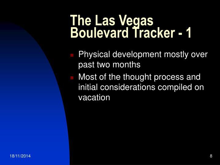 The Las Vegas Boulevard Tracker - 1