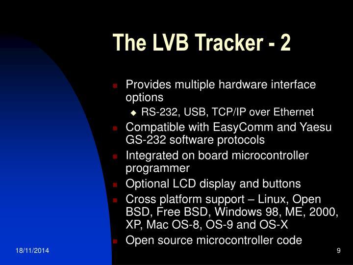 The LVB Tracker - 2