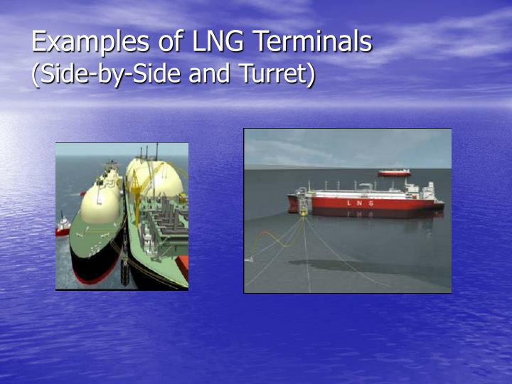 Examples of LNG Terminals