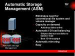 automatic storage management asm