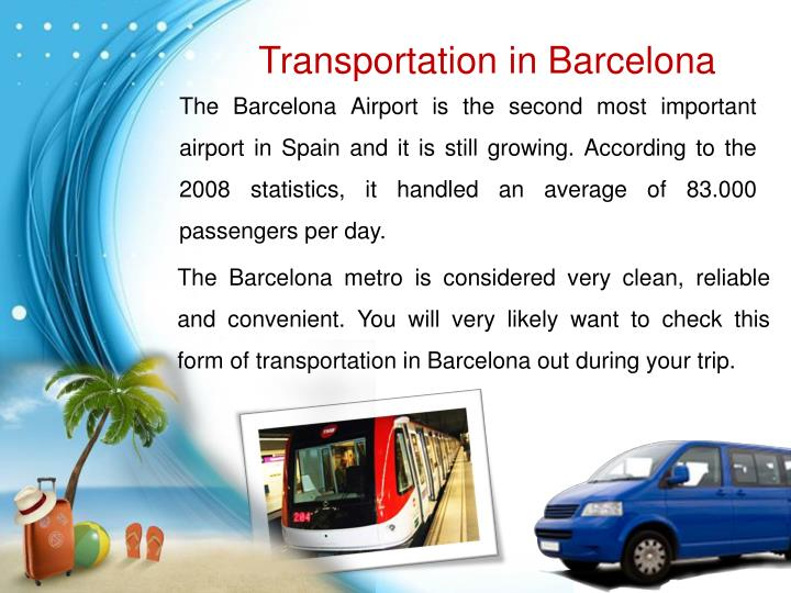 Transportation in Barcelona