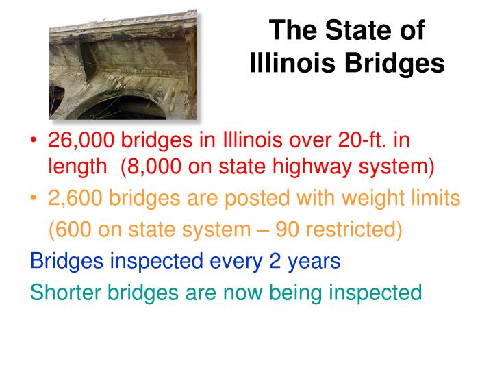 The State of Illinois Bridges