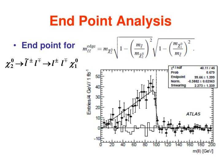 End Point Analysis