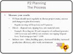 p2 planning the process11