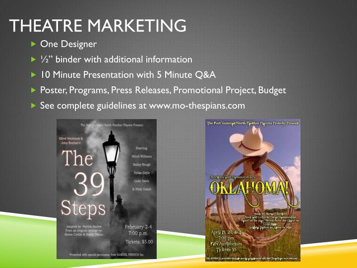 Theatre Marketing