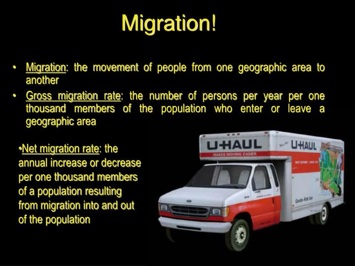 Migration!