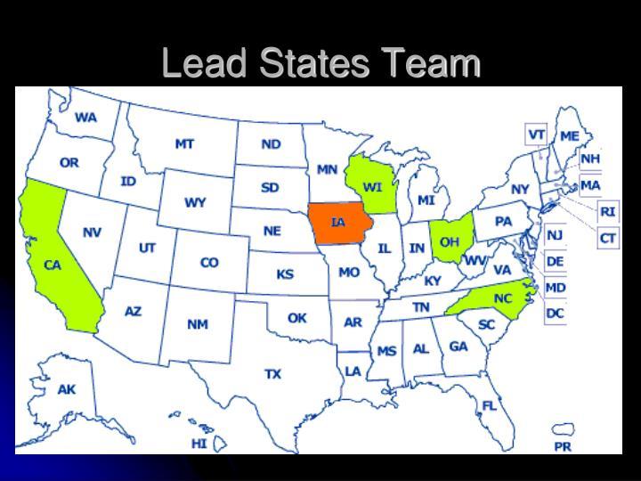 Lead States Team