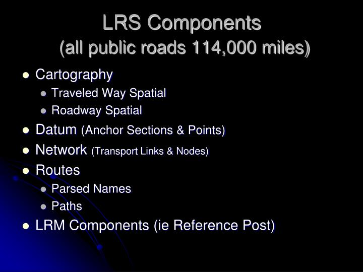 LRS Components