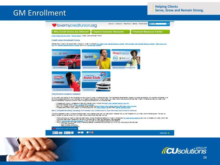 GM Enrollment