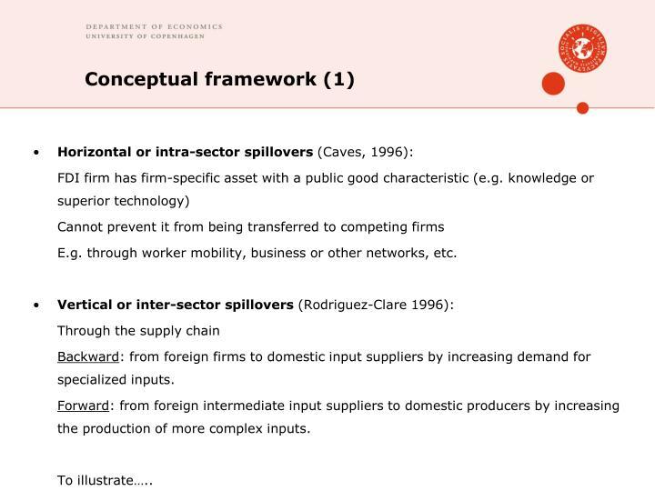 Conceptual framework (1)