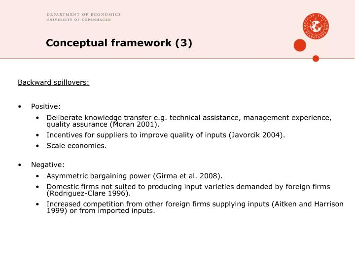 Conceptual framework (3)