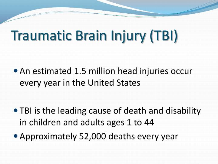 Traumatic brain injury tbi1