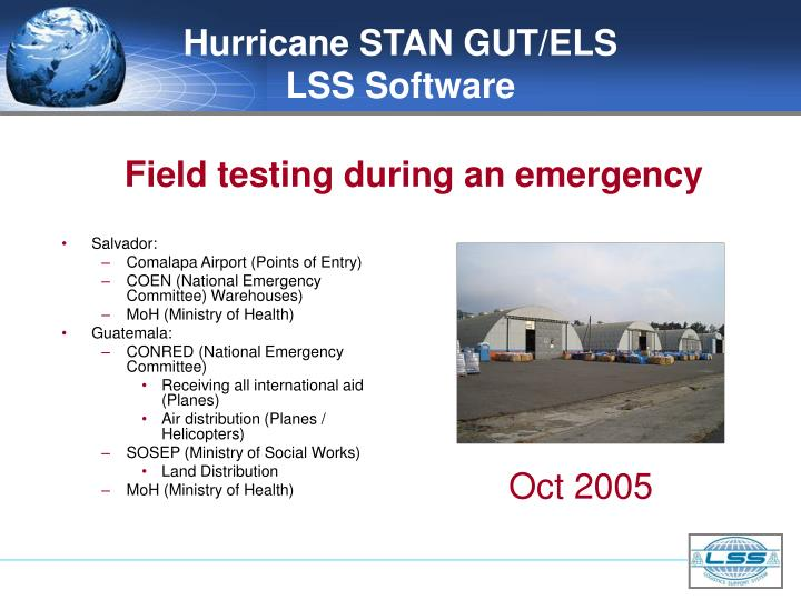 Hurricane STAN GUT/ELS