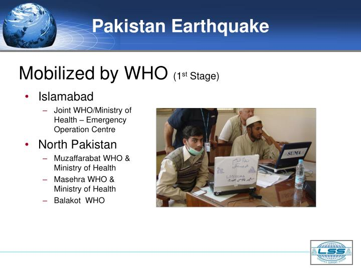 Pakistan Earthquake
