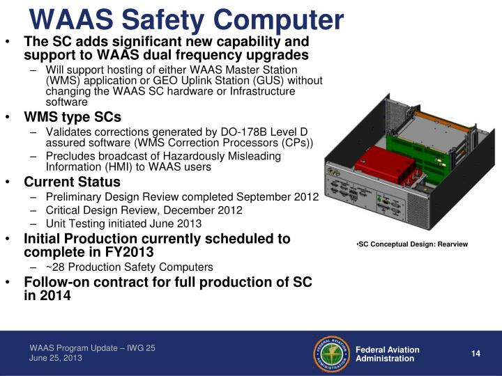 WAAS Safety Computer