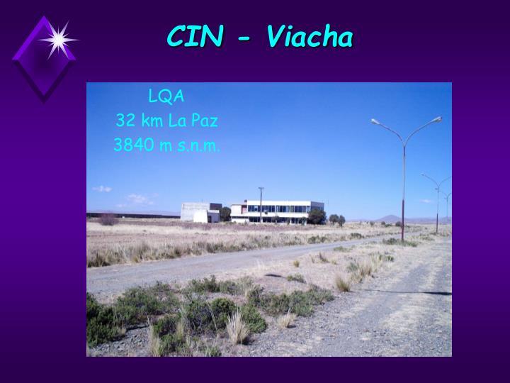 CIN - Viacha