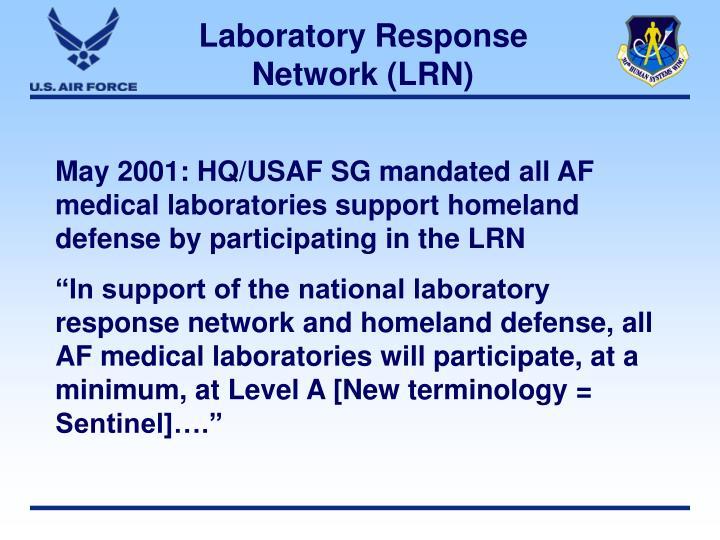 Laboratory Response Network (LRN)