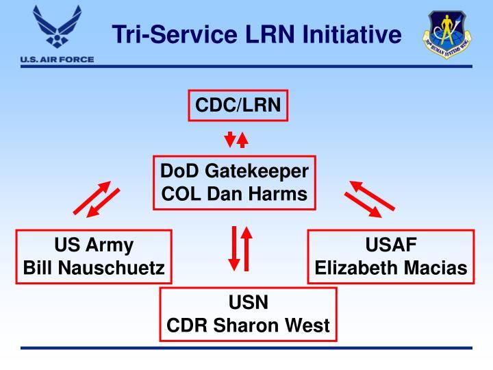 Tri-Service LRN Initiative