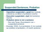 suspended sentences probation