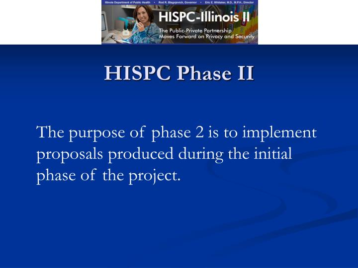 HISPC Phase II