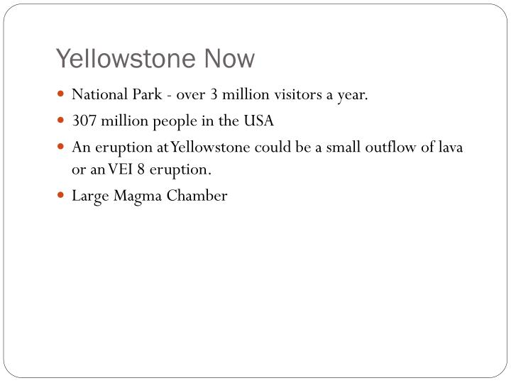 Yellowstone Now