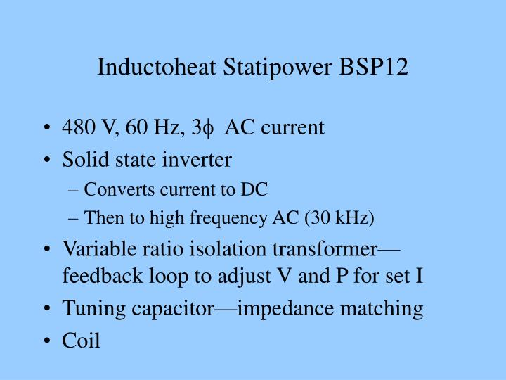 Inductoheat Statipower BSP12