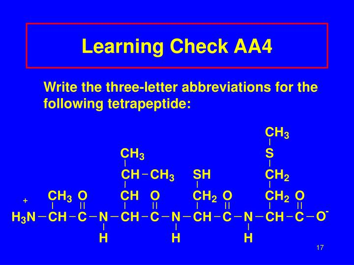Learning Check AA4