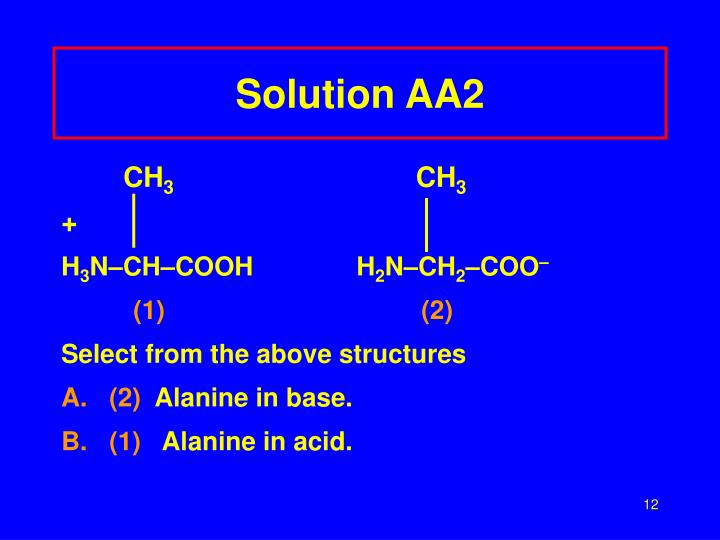 Solution AA2
