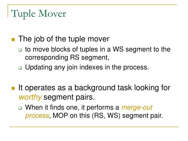 Tuple Mover