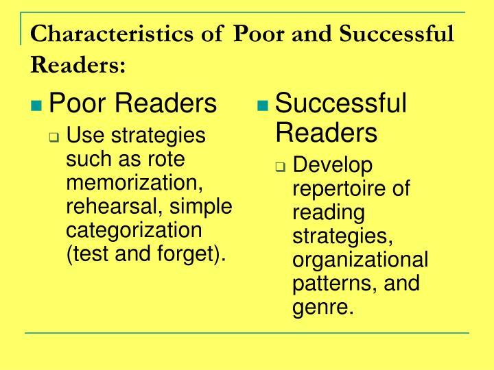 Poor Readers